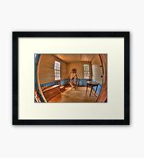 Westville Living History Framed Print