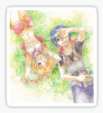 Chrono Cross: Serge and Kidd Sticker