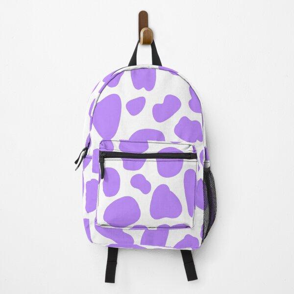 Purple Cow Hide Print Pattern  Backpack