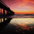 Beach Bubbles at Sunrise by jaegemt1