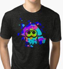 Splatoon Squid Tri-blend T-Shirt