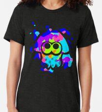 Camiseta de tejido mixto Splatoon Squid