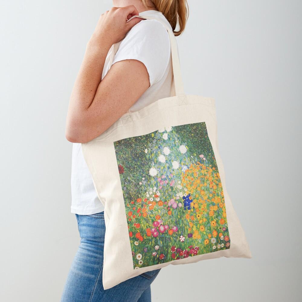 Flower Garden by Gustav Klimt Tote Bag