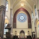 Transept, St. Louis Church, Buffalo by Ray Vaughan