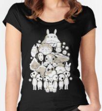My neighborhood friends Women's Fitted Scoop T-Shirt
