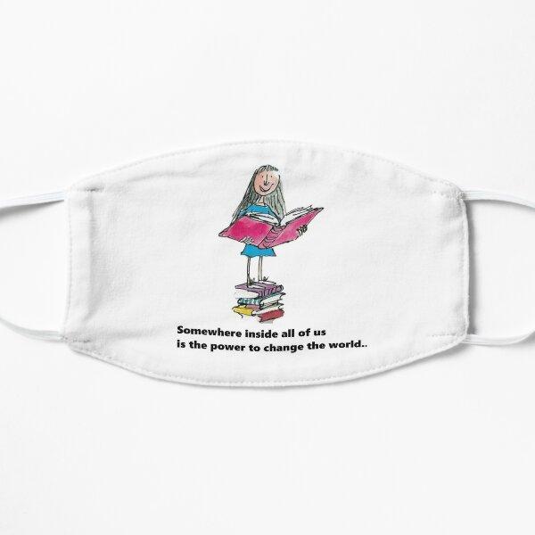 Matilda bookworm Flat Mask