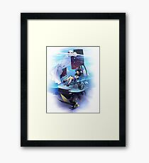 Chrono Cross: Serge and Lynx Framed Print