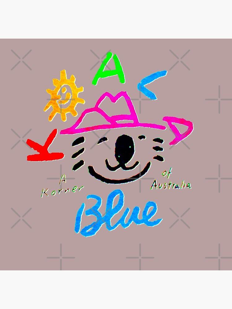 Koala Blue Olivia Newton-John  by popretrodisco