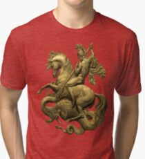 George And The Dragon Tri-blend T-Shirt