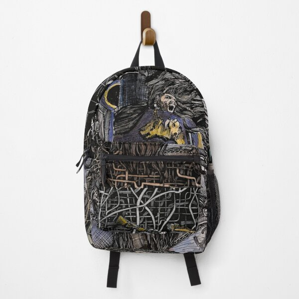 Wolves by Anna Deligianni Backpack