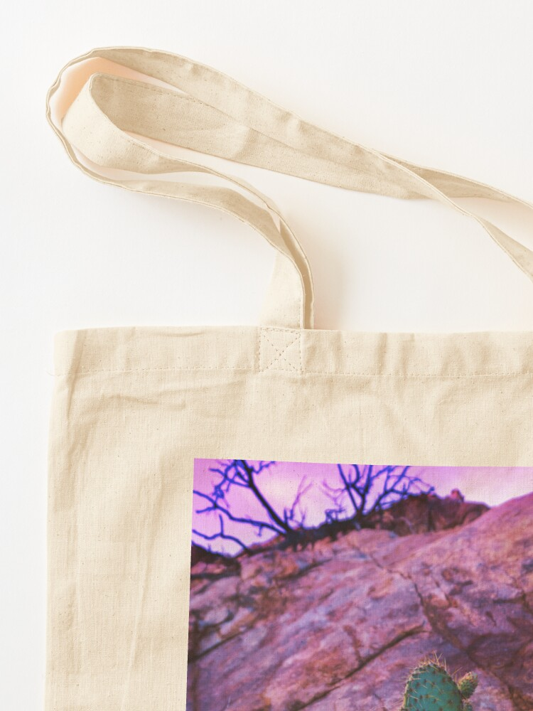 Alternate view of Prickly Purple Passion Tote Bag