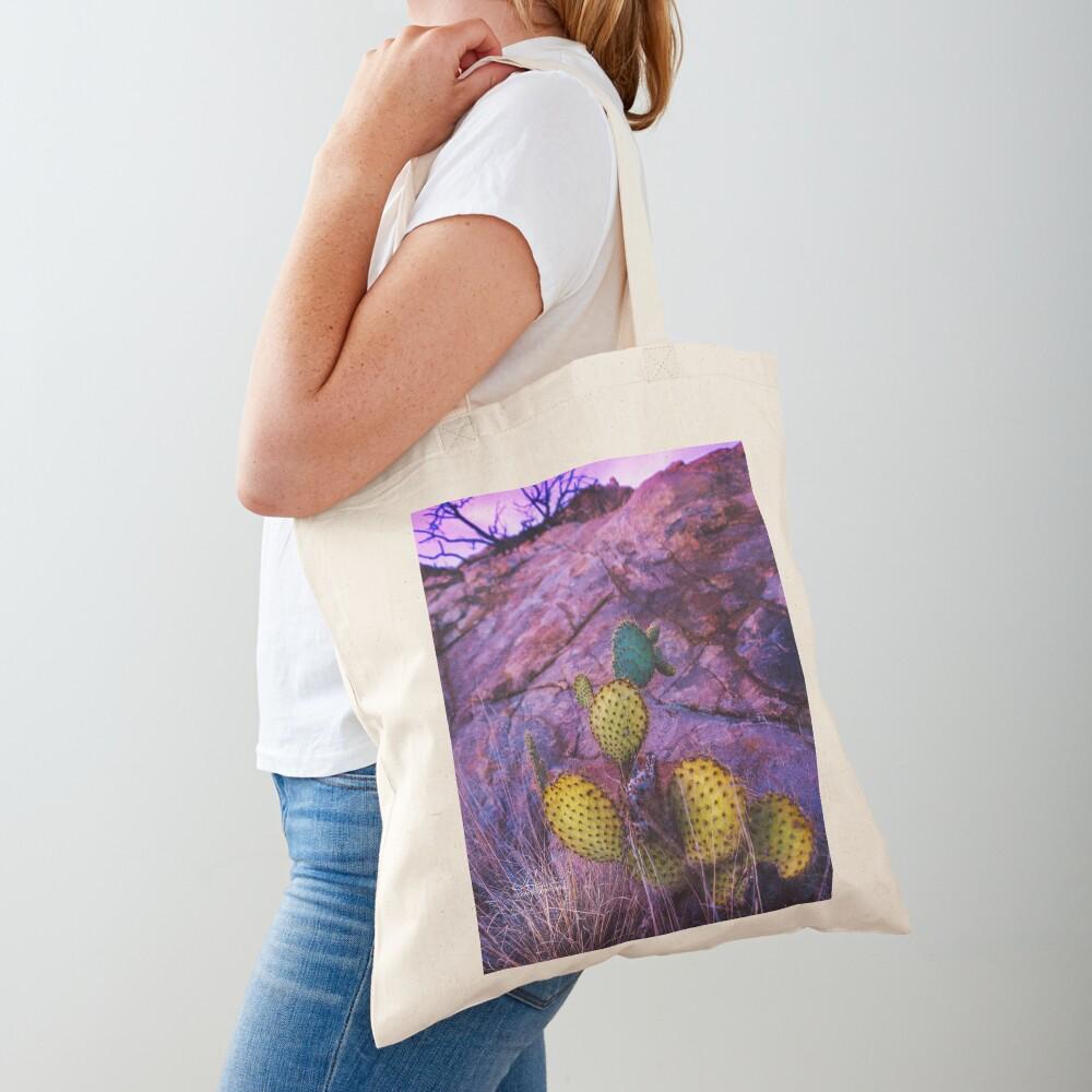Prickly Purple Passion Tote Bag