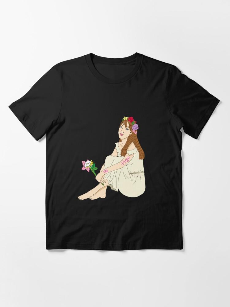 Alternative Ansicht von Jungfrau Tierkreiszeichen Design Geschenk Essential T-Shirt
