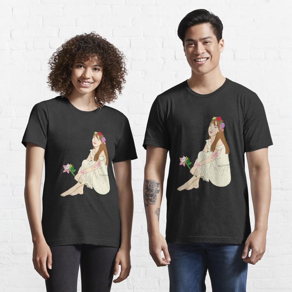 Jungfrau Tierkreiszeichen Design Geschenk Essential T-Shirt