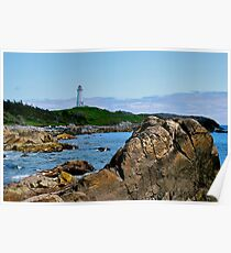 Louisbourg Lighthouse Poster
