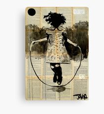 childhood (dancing with gravity) Canvas Print