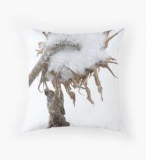 Backwards Crown Throw Pillow