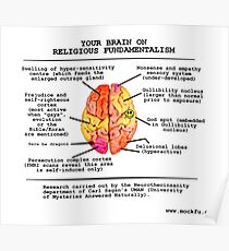 Your Brain On Religious Fundamentalism Poster