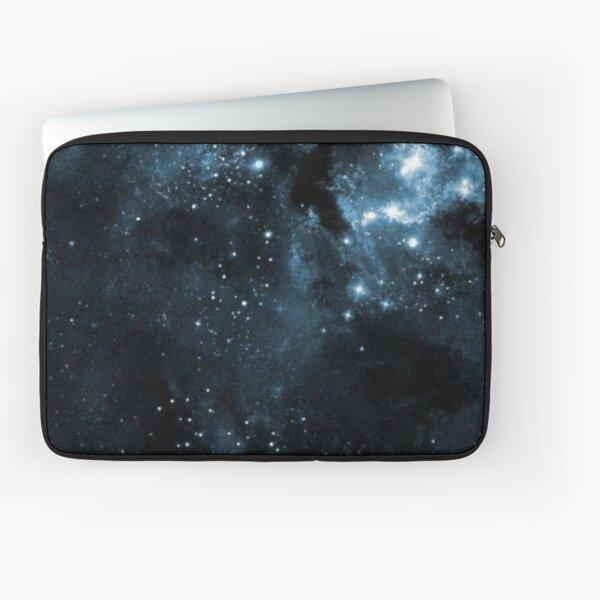 Black starry Galaxy Laptop Sleeve