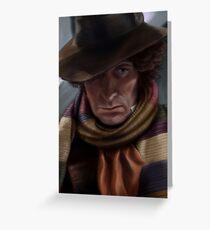 Fourth Doctor - Tom Baker Greeting Card