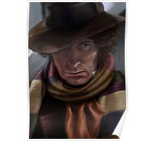 Fourth Doctor - Tom Baker Poster