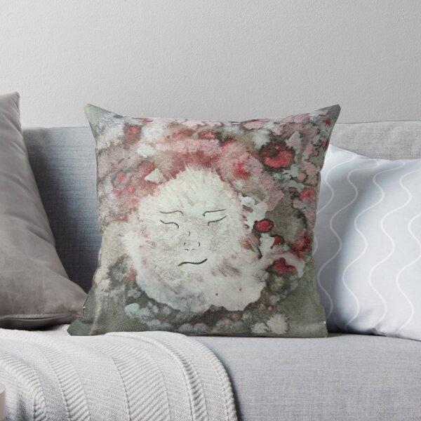 Shamanic Woman Throw Pillow