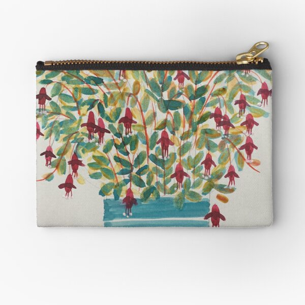 The other fuchsia Zipper Pouch
