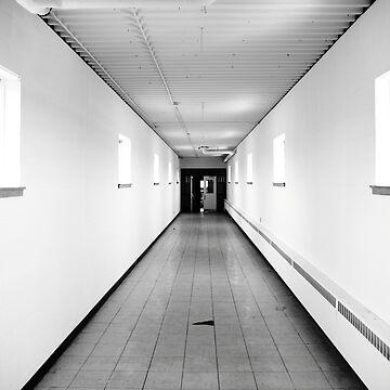 corridor by KreddibleTrout
