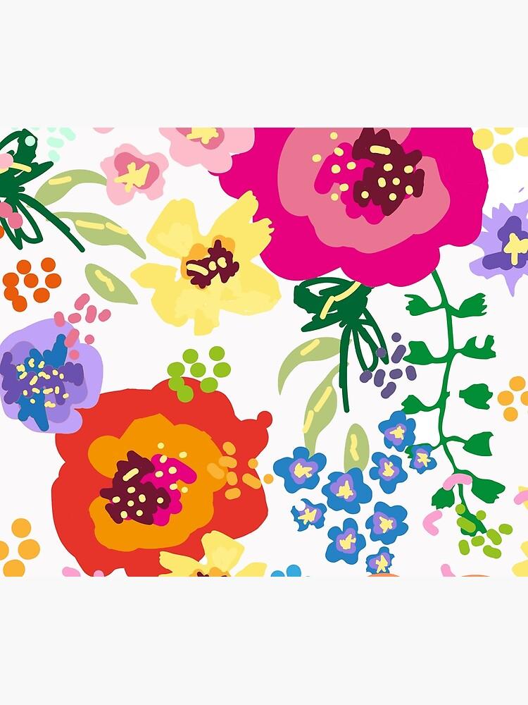 Large Print Springtime Floral by kshimmield