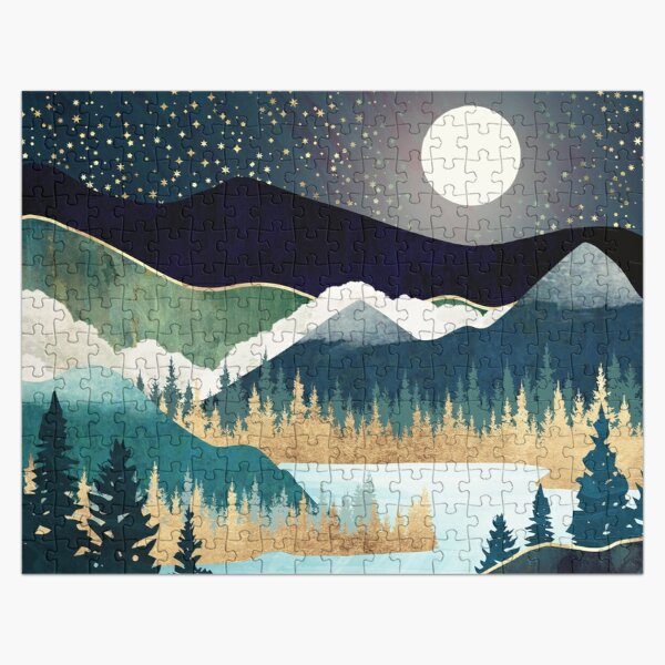 Star Lake Jigsaw Puzzle