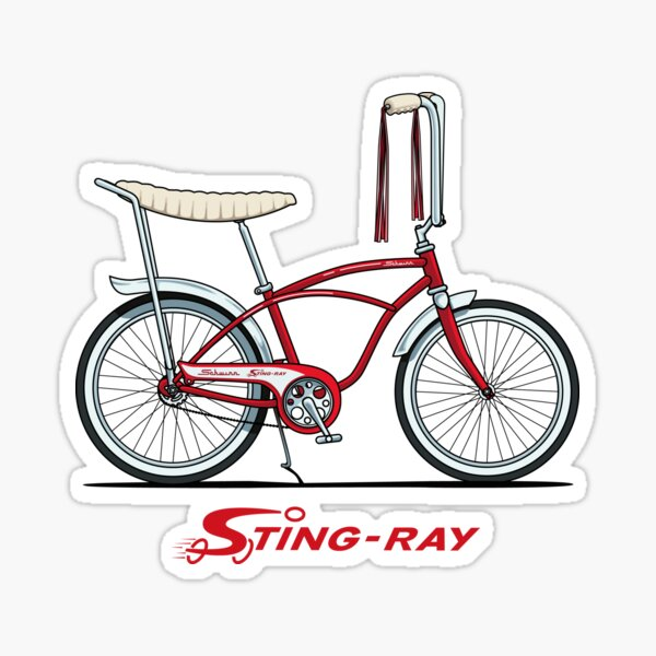 Pimp Red BANANA SEAT SISSY BAR PAD Lowrider Schwinn Bike Vintage Cruiser Bicycle