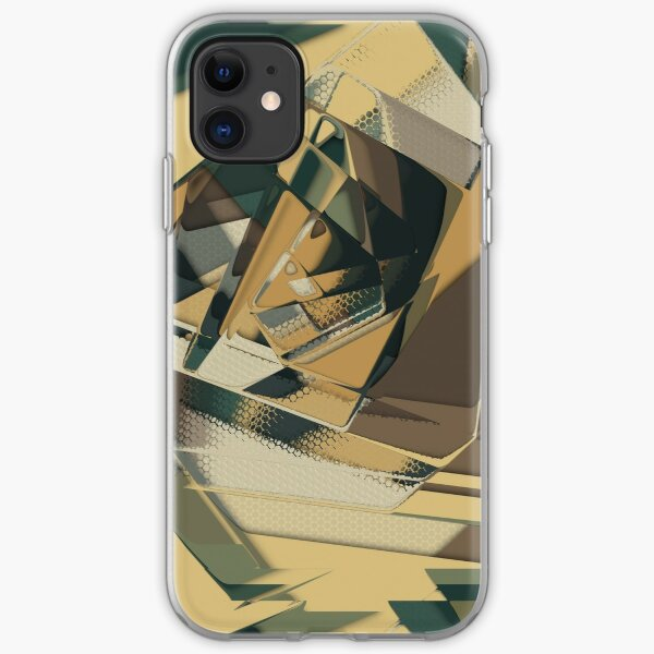 Abstract Melt 3 iPhone Soft Case