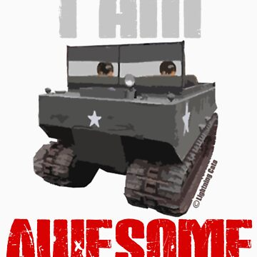 I Am Awesome M29 Weasel by PalmettoSpace