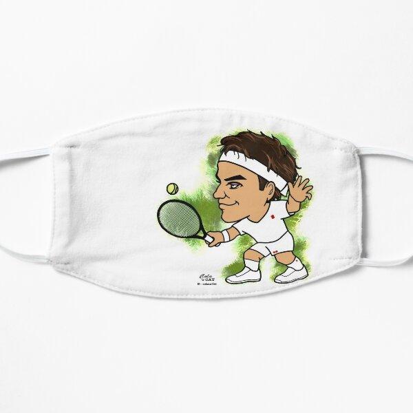 Roger Federer Masque sans plis