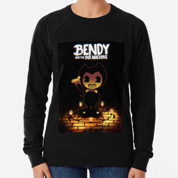 bendy and the ink machine Lightweight Sweatshirt
