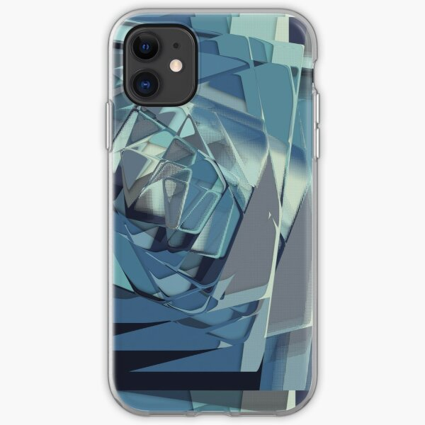Abstract Melt 4 iPhone Soft Case