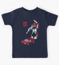 Sideswipe (dark coloured T-shirts) Kids T-Shirt