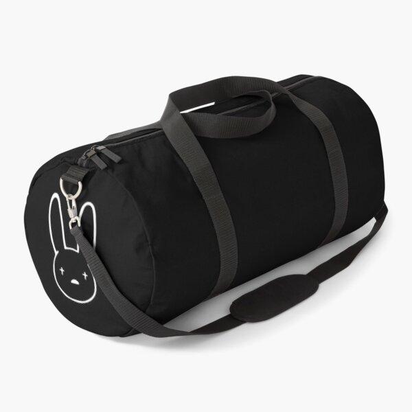 Bad Bunny Oasis Logo (White on Black) Duffle Bag