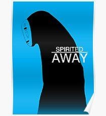 Spirited Away - No Face Poster