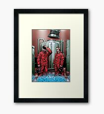 Blue Meth Framed Print
