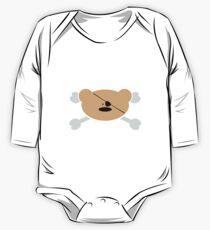 Teddy-Bear Pirate One Piece - Long Sleeve