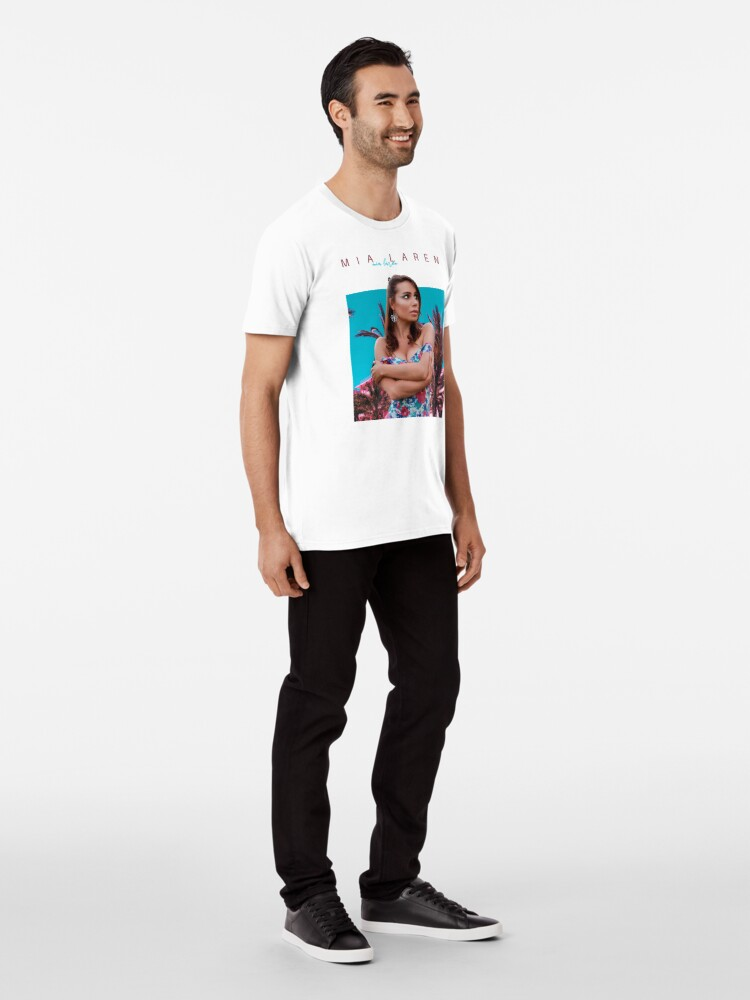 Alternate view of Mia Laren Merch Premium T-Shirt