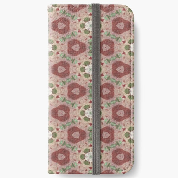Strawberries and Stems iPhone Wallet