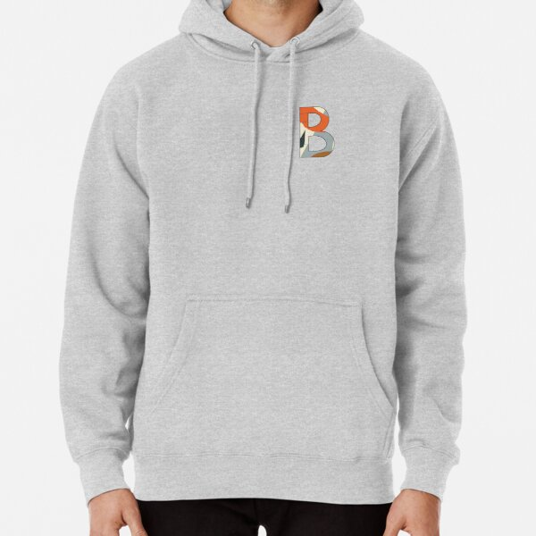 Abstract tropical alphabet letters Pullover Hoodie