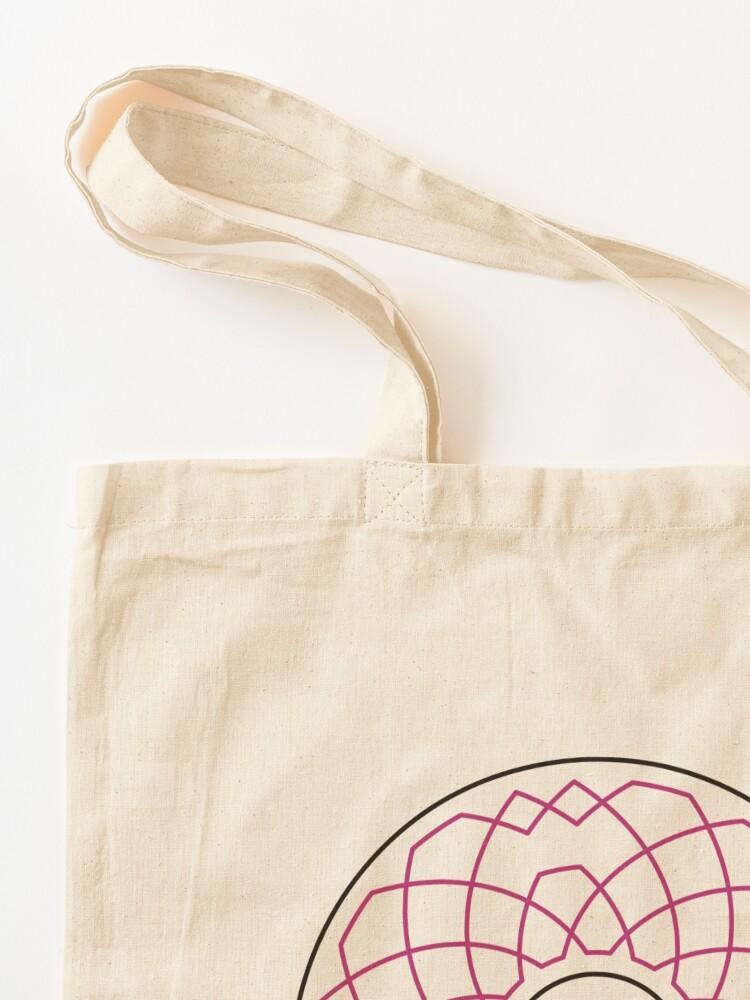 Alternate view of Grandsire Doubles Method Wreath — Tote Bag Tote Bag