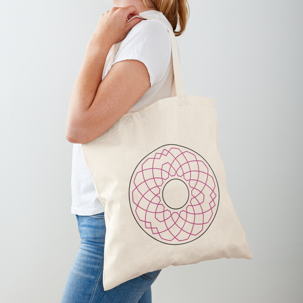 Grandsire Doubles Method Wreath — Tote Bag Tote Bag