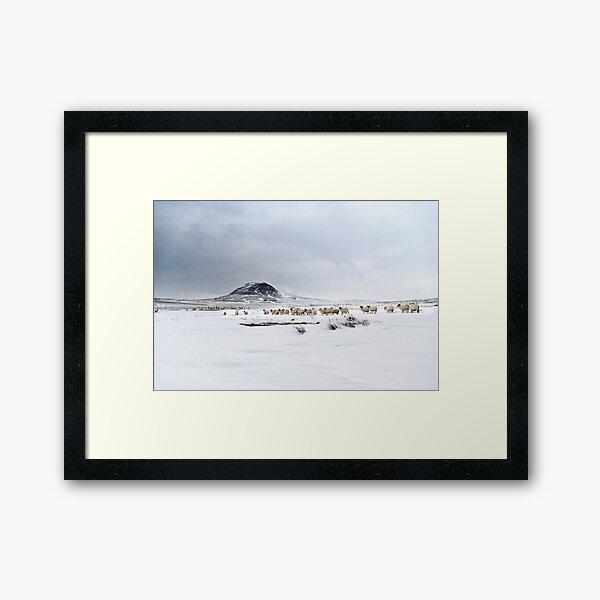 Slemish muntain , Ulster , Co Antrim , United Kingdom  Framed Art Print