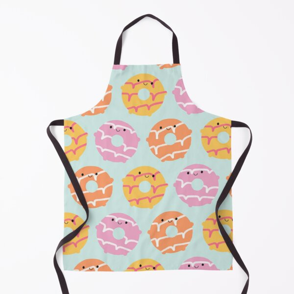 Kawaii Party Rings Biscuits Apron
