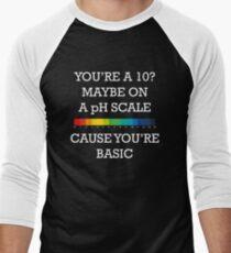 You're Basic! Men's Baseball ¾ T-Shirt