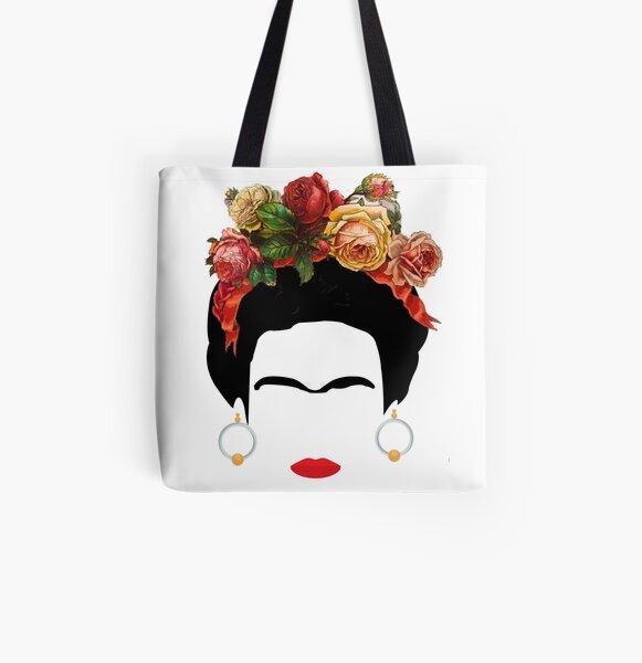 Frida K Tote bag doublé